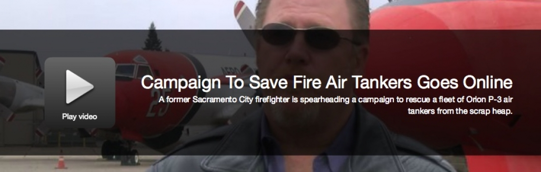 Fox 40: $5m Campaign To Save Fire Air Tankers Goes Online