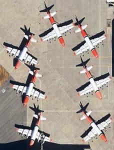 P-3s-at-McClellan-AFB-10-6-2012